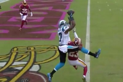 Devin Funchess does best Randy Moss impression vs. Redskins