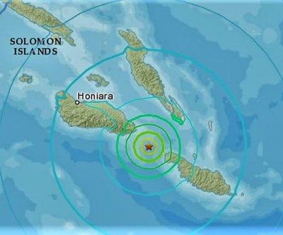 Magnitude-6.3 earthquake strikes Solomon Islands