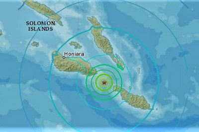Magnitude-6.3 earthquake strikes Solomon Islands