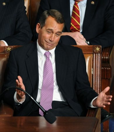 Boehner: No 'majority of majority' rule