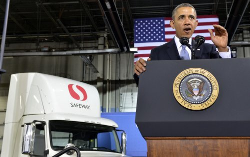 Better fuel economy a 'win-win-win,' Obama says