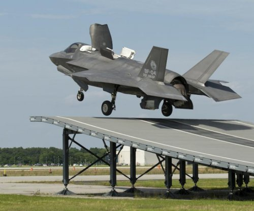 F-35B tested for use on British, Italian aircraft carriers