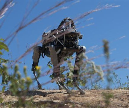 Marines experiment with robot capabilities