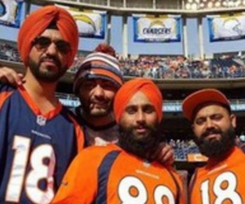 Sikh Broncos fans say stadium security didn't like turbans