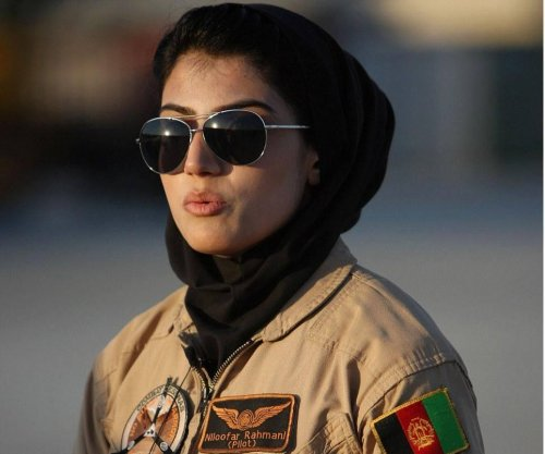Niloofar Rahmani, first female Afghan air force pilot, applies for U.S. asylum