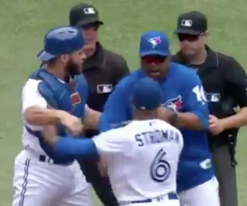Toronto Blue Jays star Marcus Stroman charges ump, gets ejected