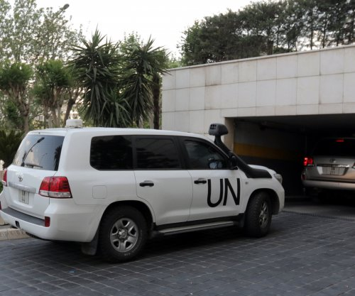 U.N. team attacked by gunfire at Syria chemical site
