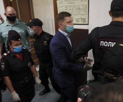 Russians in Far East region protest arrest of regional governor
