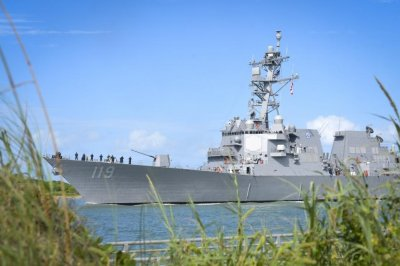 USS Delbert Black destroyer to be commissioned on Saturday