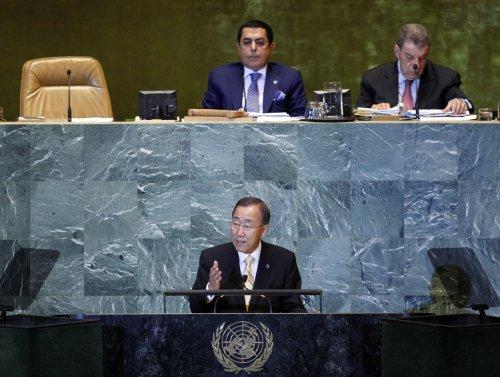 U.N. chief lauds Libyans