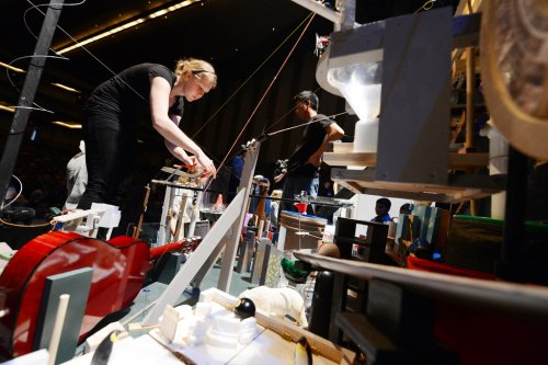 St. Olaf wins Rube Goldberg contest