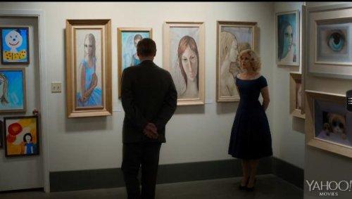 Amy Adams stars in Tim Burton's 'Big Eyes' trailer