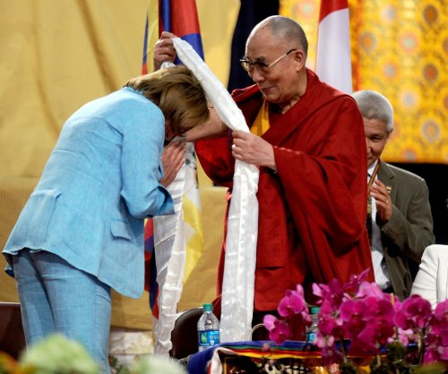 Dalai Lama celebrates birthday by meditating with Nancy Pelosi, others