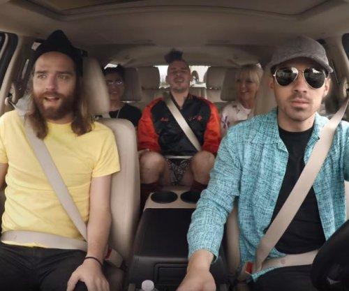 Joe Jonas, DNCE drive passengers in latest 'Undercover Lyft'