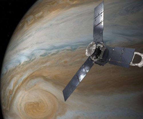 NASA's Juno probe passes across Jupiter's Great Red Spot