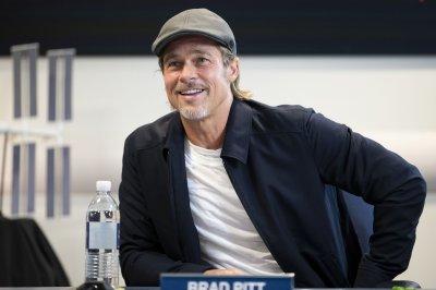 Brad Pitt interviews astronaut from International Space Station