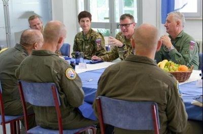 U.S., Slovenian militaries discuss joint response to potential threats