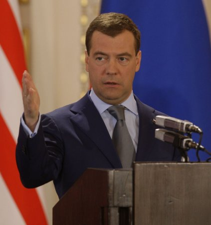 Medvedev in Scandinavia for energy talks