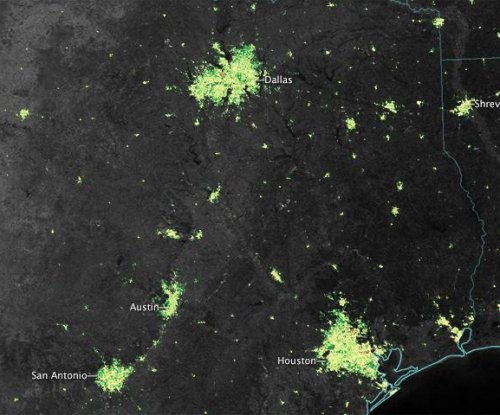 NASA satellites spy holiday lights from space