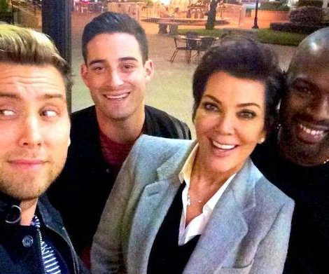 Kris Jenner, Corey Gamble double date with Lance Bass, Michael Turchin
