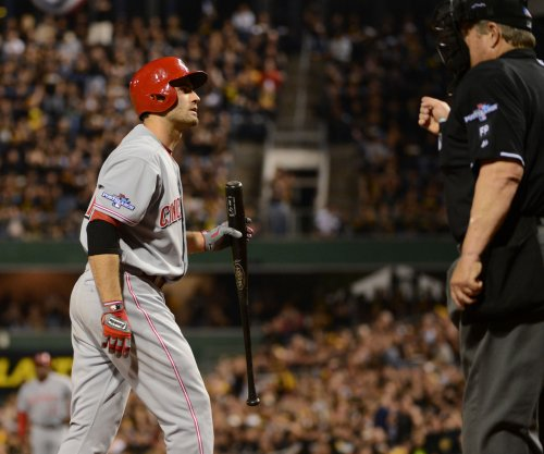 Cincinnati Reds' Joey Votto suspended two games but appeals