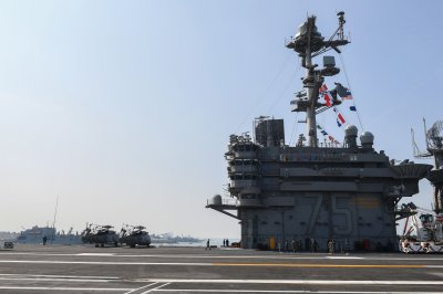 Truman Carrier Strike Group departs Norfolk after port visit