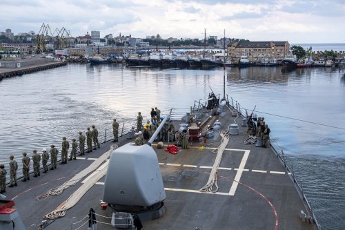 USS Laboon conducts Romania port visit during Black Sea deployment