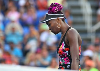 Serena Williams rained out at U.S. Open, sister Venus eliminated