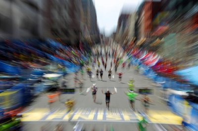 Members of Congress run Boston Marathon
