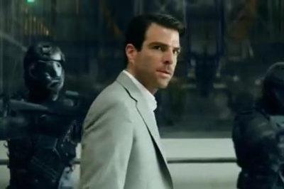 Zachary Quinto stars in new 'Hitman: Agent 47' trailer