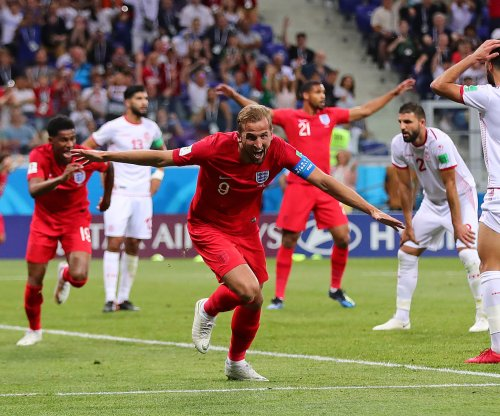 England's Harry Kane responds to winning World Cup Golden Boot