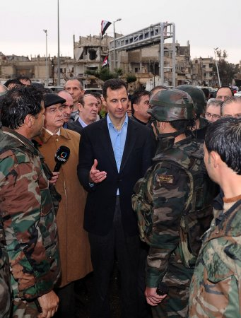 Assad: Syria must 'annihilate terrorists'