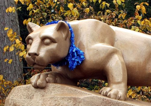 Penn State rallies behind abuse victims