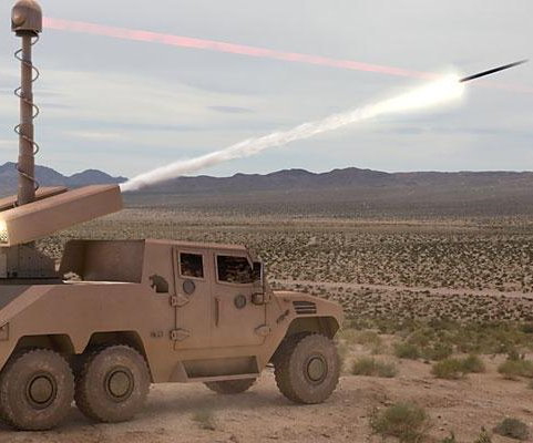 Raytheon, UAE partner intergrating Talon-equipped rockets onto ground vehicles