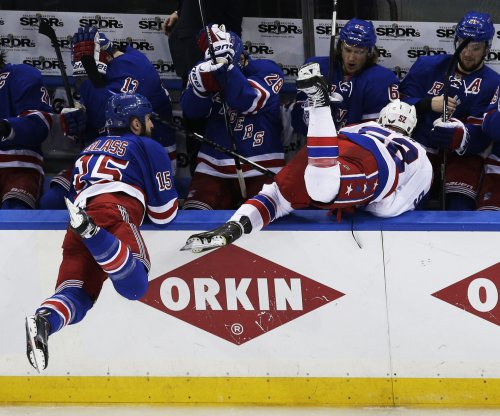 New York Rangers get one back from Washington Capitals
