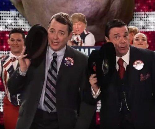 'The Producers' stars mock Donald Trump on 'Jimmy Kimmel Live'