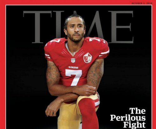 Colin Kaepernick kneels on cover of TIME