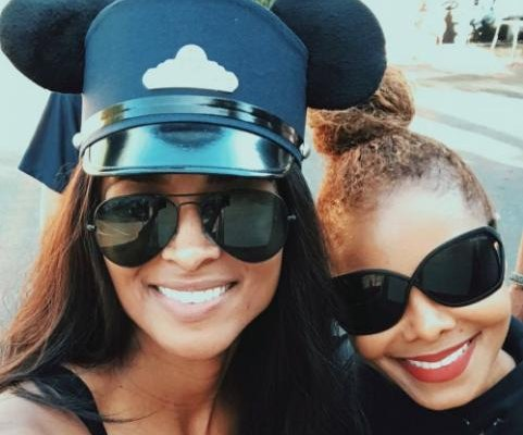 Ciara, Janet Jackson enjoy trip to Disneyland with sons
