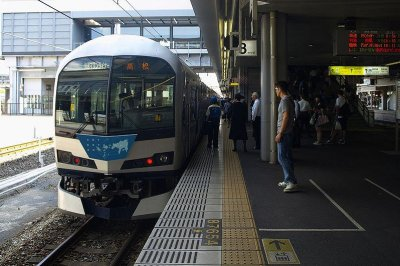 Japanese trains could soon bark, snort to scare deer off tracks