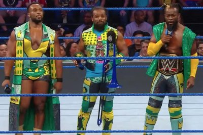 WWE Smackdown: Kofi Kingston reunites with The New Day