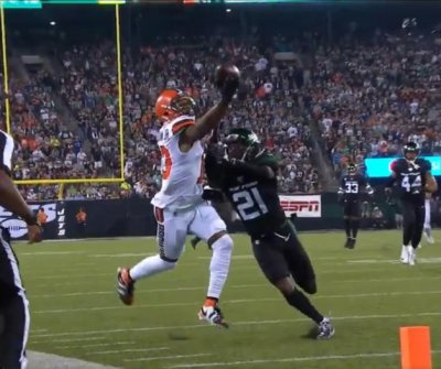Browns' Odell Beckham Jr. makes crazy one-handed catch vs. Jets