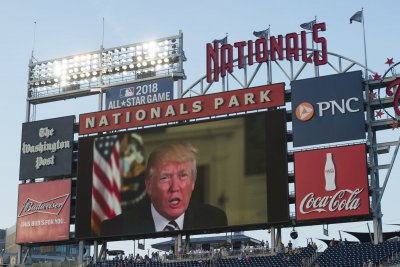 Trump to attend World Series if there's a Game 5
