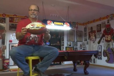 Man seeks Guinness certification for Chiefs memorabilia collection