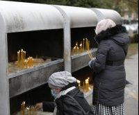 Mourners say farewell to head of Serbian Orthodox Church