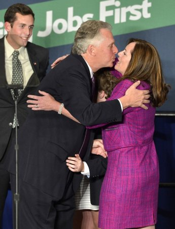 Christie coasts to win; McAuliffe squeaks by