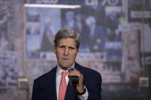"Secretary Kerry expresses ""disgust"" over Ukrainian crackdown on protestors"