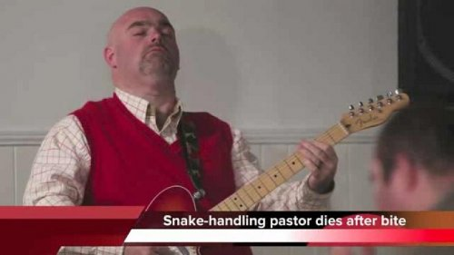 Snake Salvation pastor's son to carry on tradition