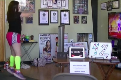 Teacher plays 'Just Dance' for 138 hours, sets Guinness record