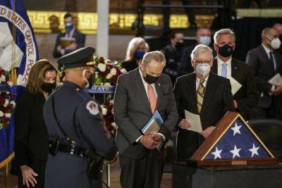 Solemn memorial at U.S. Capitol honors slain officer Brian Sicknick