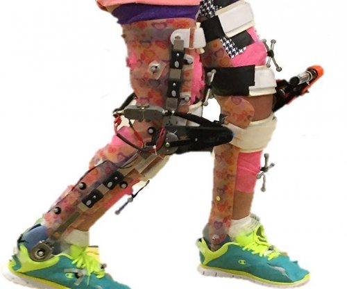 Exoskeletons may help children with cerebral palsy avoid crouch gait